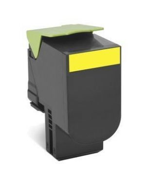 Cartuccia toner giallo  702xye Lexmark 70C2XYE 734646471039 70C2XYE