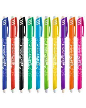 Barattolo 50 penna sfera cancellabile cancellik 1,0mm col. assortiti tratto 826500 8000825826474 826500_73548 by Tratto