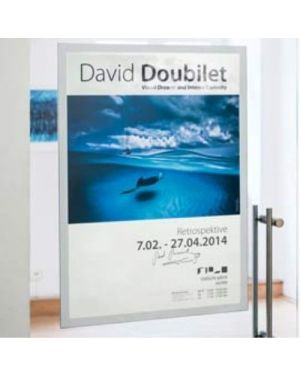 Duraframe poster a2 42x59,4cm argento durable 4995-23_74533 by Durable