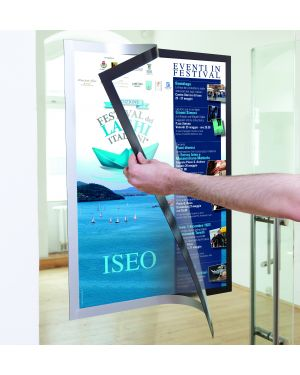 Duraframe poster a2 42x59,4cm argento durable 4995-23 4005546406718 4995-23_74533 by Esselte