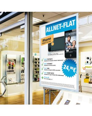 Cornice adesiva duraframe® poster 50x70cm argento durable 4996-23 4005546406732 4996-23_74535 by Durable