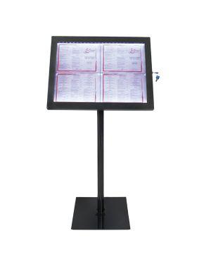 Espositore a led 4xa4 per esterni securit MCS-4A4-BL-SET 8718226797987 MCS-4A4-BL-SET_74543