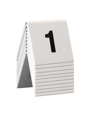 Set da 1 a 10 numeri per i tavoli securit TN-1-10 8718226498113 TN-1-10_74552