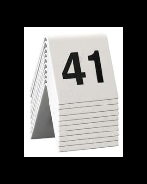 Set da 41 a 50 numeri per i tavoli securit TN-41-50 8718226498151 TN-41-50_74556