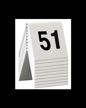 Set da 51 a 60 numeri per i tavoli securit TN-51-60 8718226498168 TN-51-60_74557