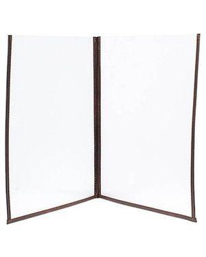 Porta menu' crystal br2 doppio (per 4 fogli a4) MC3-CYA4-BR2_74565