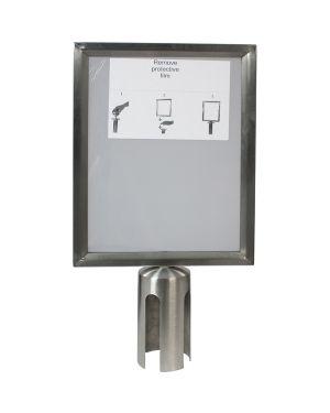 Display a4 per colonnina securit RS-SIGN-A4-PS  RS-SIGN-A4-PS_74570