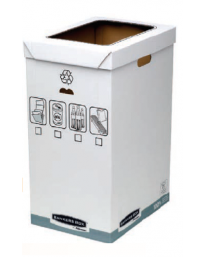 Cestino per riciclo 90lt bankers box system 0193201_74724