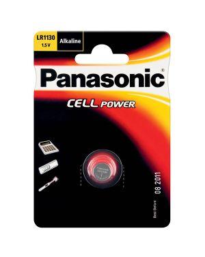 Micropila a pastiglia lr1130 alcalina 1,5v panasonic C301130 5019068083011 C301130_63395 by Panasonic
