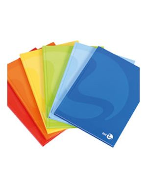 Maxiquaderno cartonato a4 80gr 192fg+1 1rigo color 80 bm Confezione da 5 pezzi 0105364_74119 by Bm