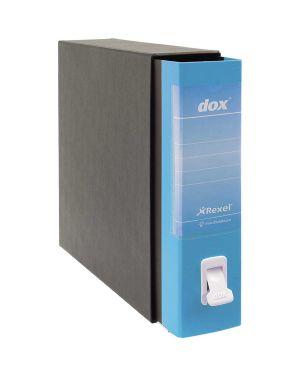Registratore dox 2 azzurro capri dorso 8cm f.to protocollo rexel D26201 5028252441735 D26201_74600