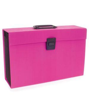 Archiviatore a soffietto rosa 19tasche joy rexel 2104018 5028252423441 2104018_74703