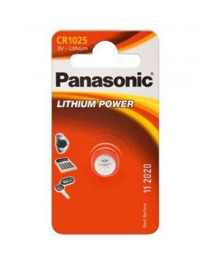 Blister micropila litio cr1025 panasonic C301025 5410853010227 C301025_74814 by Panasonic