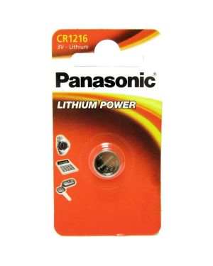 Blister micropila litio cr1216 panasonic C301216 5410853010210 C301216_74815 by Panasonic
