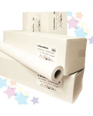 Carta plotter 914mm x 50m 90gr inkjet starline CONFEZIONE DA 4 STL2530_STL2530