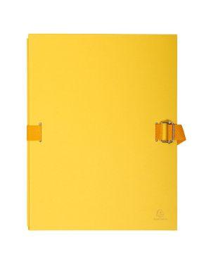 Cartella dorso estensibile giallo con alette in carta exacompta 223235E 3157407003664 223235E_72711