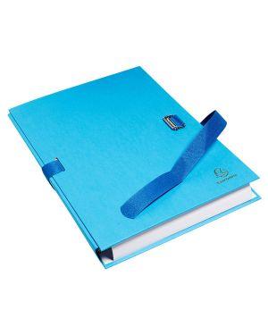 Cartella dorso estensibile azzurro con alette in carta exacompta 223220E 3157407003428 223220E_72837
