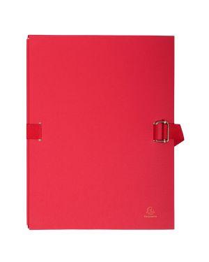 Cartella dorso estensibile rosso con alette in carta exacompta 223275E 3157407003435 223275E_73145