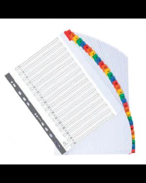 Separatore alfabetico a z/a4 in cartoncino 160gr exacompt 1111E_74627