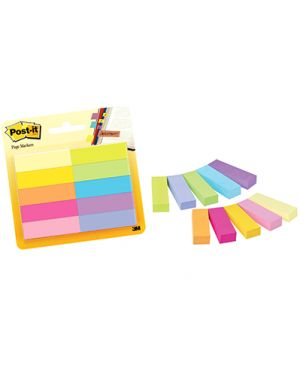Post it segnapagina carta 670 note makers mm.12,7x44,4 pz.10 col.ass 63152_74631