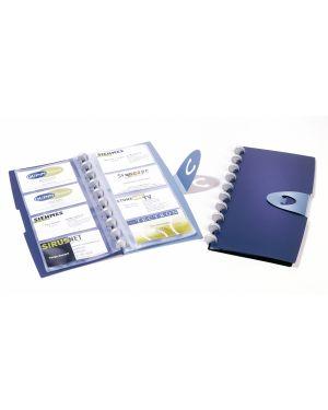 Portabiglietti visita 96 posti duralook® visifix walk 2452 durable 2452-07 4005546205847 2452-07_74705 by Durable