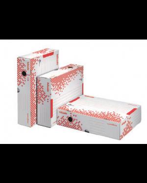 Scatola archivio speedbox dorso 80mm 35x25x8cm apertura totale esselte CONFEZIONE DA 25 623910_74728