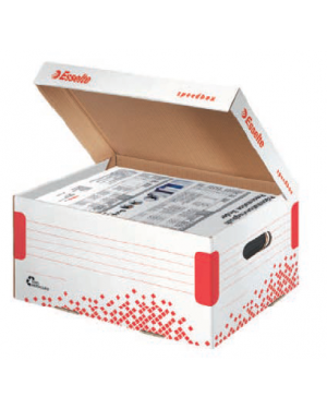 Scatola container speedbox medium - 32,5x36,7x26,3cm esselte Confezione da 15 pezzi 623912_74730
