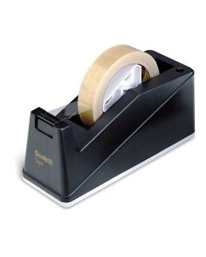 Dispenser c-10 nero per nastri da 33 - 66mt scotch 59555 3134375299282 59555_74837 by Scotch