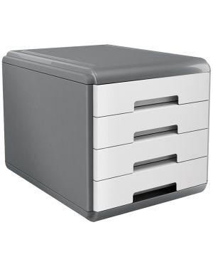 Cassettiera 4 cassetti 45mm mydesk bianco arda 18P4PB_74995