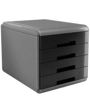 Cassettiera 4 cassetti 45mm mydesk nero arda 18P4PN 8003438014986 18P4PN_74996 by Arda