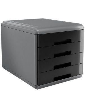 Cassettiera 4 cassetti 45mm mydesk nero arda 18P4PN_74996