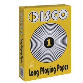 Carta fotocopie disco 1 a4 80gr 500fg (drop CONFEZIONE DA 5