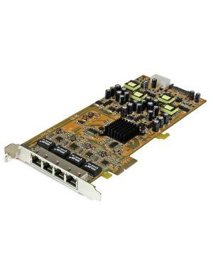 Scheda di rete PCIe Gigabit Power over Ethernet a 4 porte - Adattatore PCI express PSE / POE - NIC  ST4000PEXPSE_V933345 by Startech.com - Consumer Io
