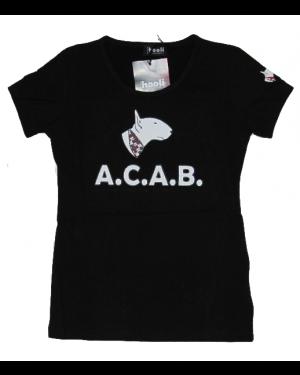 Maglietta hooli donna nera, taglia L HOOLI 01_B_L