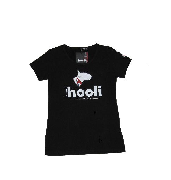 Maglietta hooli donna nera, taglia S HOOLI 02_B_S
