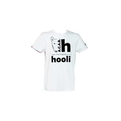 Maglietta hooli uomo bianca, taglia S HUACAB_W_S
