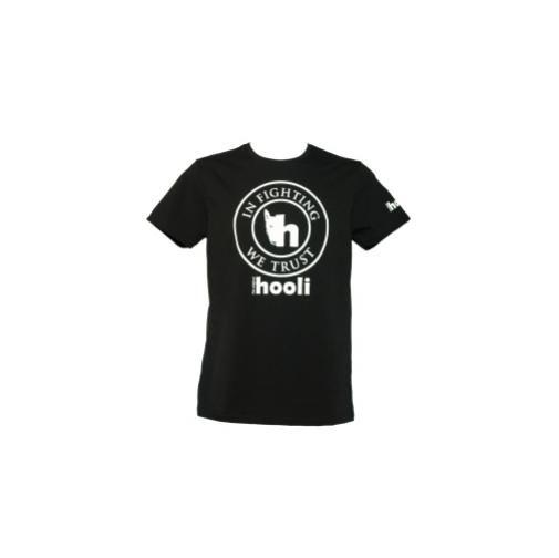 Maglietta hooli uomo nera, taglia S HU1_B_S