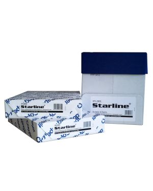 Carta fotocopie a4 80gr 500fg bianca starline STL2001 8025133028259 STL2001_STL2001 by Starline
