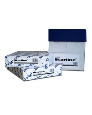 Carta da fotocopie a4 80gr 500fg bianca starline (drop max 25 risme STL2001drop STL2002A STL2001drop_STL2002 by Esselte
