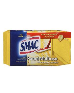 Pack 12 panni smac system pavimenti e multiuso M74395 8003650003850 M74395_64299 by Smac