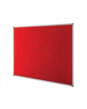 Pannello in tessuto elipse 90x120cm rosso 1902260_68966