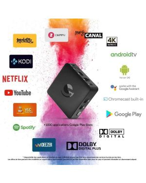 Android tvbox 4k ematic Strong SRT202EMATIC 9120072371677 SRT202EMATIC