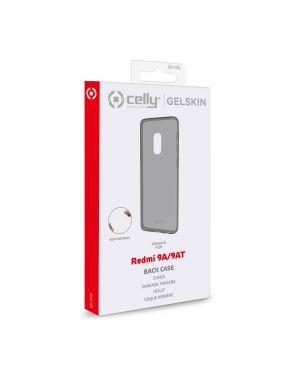 Tpu cover redmi 9a - 9at black Celly GELSKIN930BK 8021735762355 GELSKIN930BK