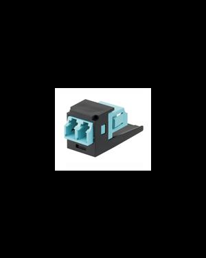 Adattatore lc duplex per fibre mm Panduit CMDSAQLCZBL 74983539994 CMDSAQLCZBL