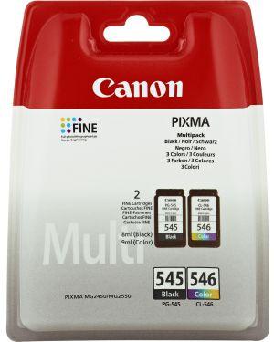 Conf. multipack cartuccia inchiostro nero pg-545 - cl-546 8287B005 8714574605517 8287B005_CANINKPG545MP