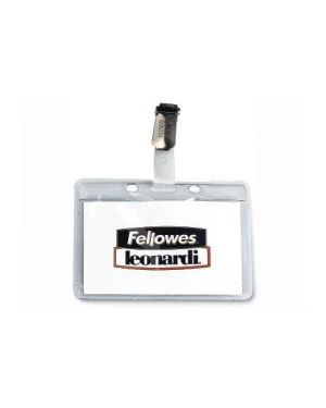 Cf100p.badge kristal clip in pla L453TR_59052 by FELLOWES