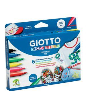 Pennarelli giotto decor textile 6 GIOTTO 494800 8000825495007 494800_52728