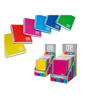 Microquaderno spiralato ppl 8x12cm a7 80fg+1 80gr 1rigo one color blasetti Confezione da 14 pezzi 5460_75621 by Blasetti