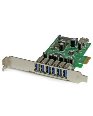Scheda espansione pcie usb STARTECH - COMP. CARDS AND ADAPTERS PEXUSB3S7 65030860345 PEXUSB3S7_V933424 by Startech.com - Consumer Io