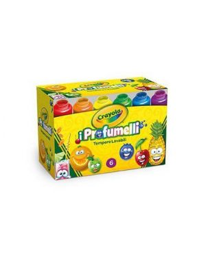 profumelli - tempere lavabili Crayola 54-2392 71662023942 54-2392